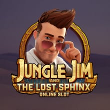 Jungle Jim and the Lost Sphinx logo logo