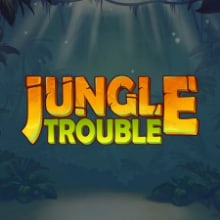 Jungle Trouble logo logo