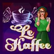 Le Kaffee Bar logo logo