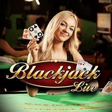 Live Blackjack logo logo