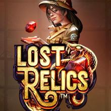 Lost Relics logo logo