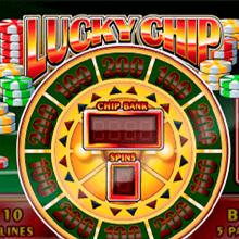 Lucky Chip logo logo