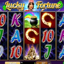 Lucky Fortune logo logo