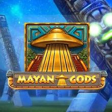 Mayan Gods logo logo