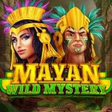 Mayan Wild Mystery logo logo