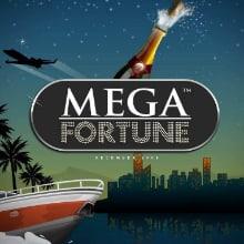 Mega Fortune logo logo