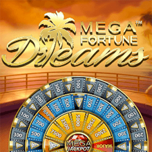 Mega Fortune Dreams logo logo