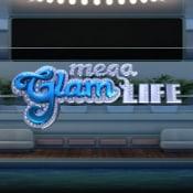 Mega Glam Life logo logo