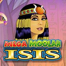 Mega Moolah IsIs logo logo