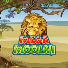 Mega Moolah spel logo logo
