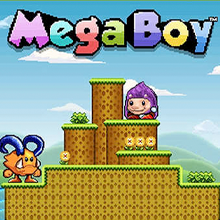 Mega Boy logo logo