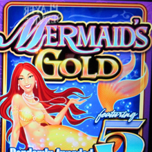 Mermaid's Gold logo logo