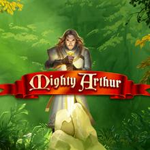 Mighty Arthur logo logo