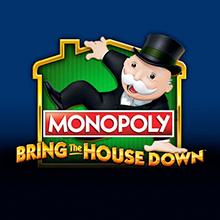 Monopoly Bring the House Down logo logo