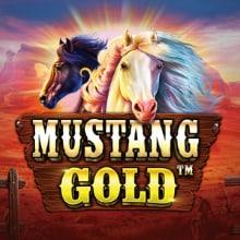 Mustang Gold logo logo
