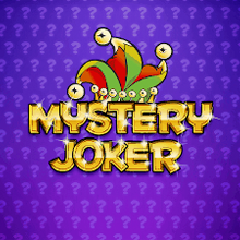 Mystery Joker spel logo logo