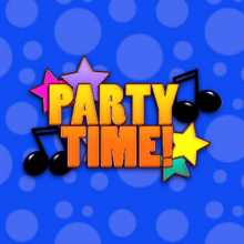 Party Time logo logo