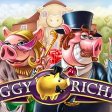 Piggy Riches logo logo