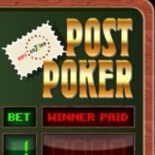 Post Poker logo logo