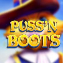 Puss'n Boots logo logo