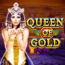 Queen of Gold logo logo