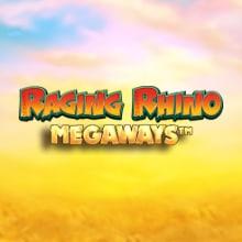 Raging Rhino Megaways logo logo