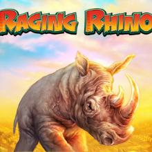 Raging Rhino logo logo