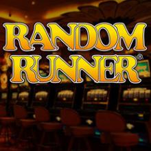Random Runner spel logo logo