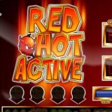 Red Hot Active logo logo