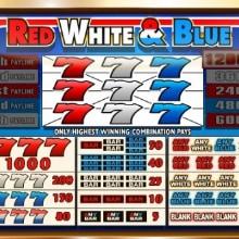 Red White Blue logo logo