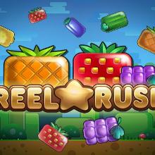 Reel Rush logo logo