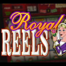 Royal Reels logo logo