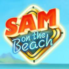 Sam on the Beach logo logo