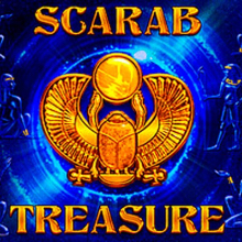 Scarab Treasure logo logo