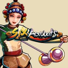 Six Acrobats logo logo