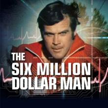 The Six Million Dollar Man logo