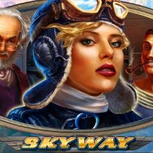Sky Way logo logo