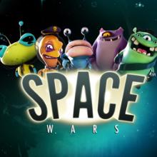 Space Wars logo logo