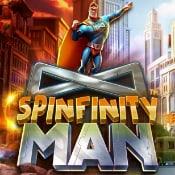 Spinfinity Man logo logo