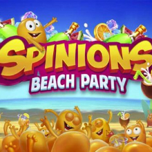 Spinions: Beach Party logo logo
