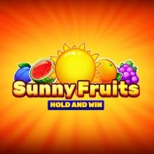 Sunny Fruits Hold and Win logo logo