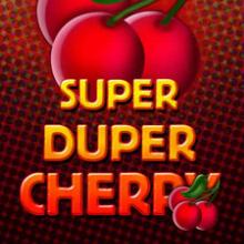 Super Duper Cherry logo logo