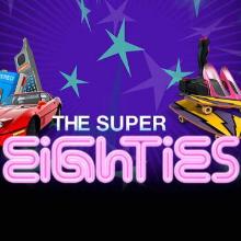 Super Eighties logo logo