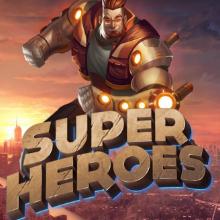 Super Heroes logo logo