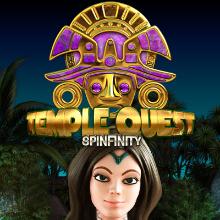Temple Quest logo logo