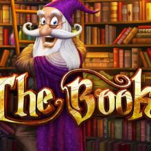The Book logo logo