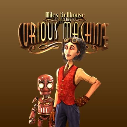The Curious Machine logo logo