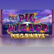The Pig Wizard Megaways logo logo