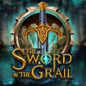 The Sword and the Grail logo logo