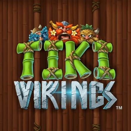 Tiki Vikings Logo logo
